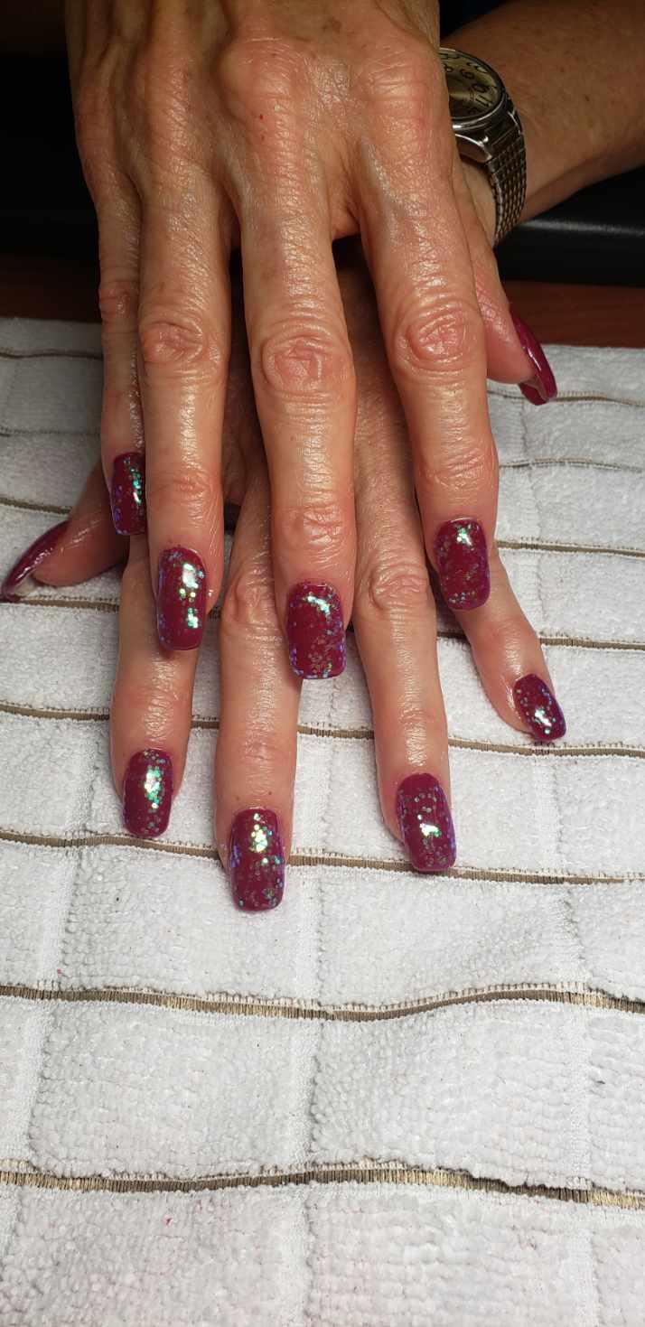 acrylic nails CDA sarah