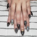 acrylic nails CDA stiletto