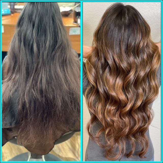 Lavish Salon CDA Before and After