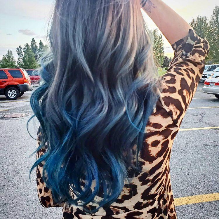 Color Blue Ombre CDA