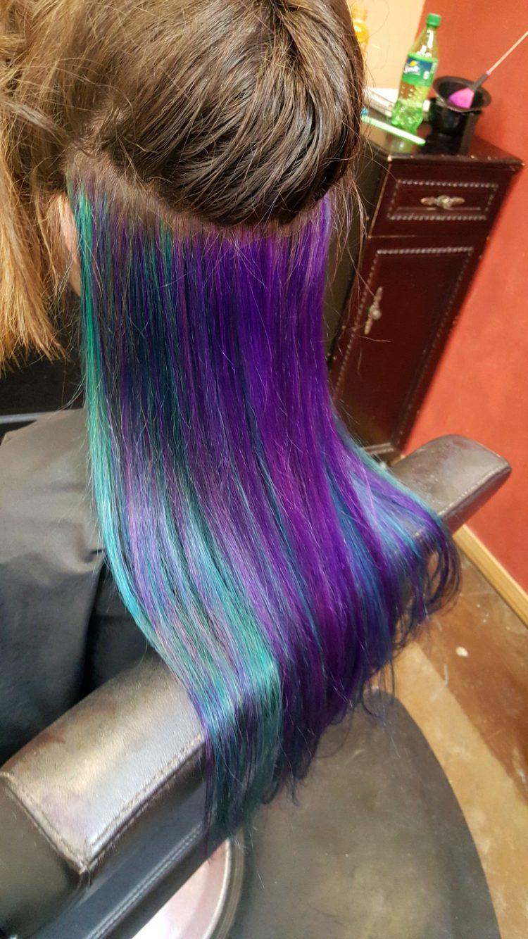 Bold Color Blue Purple CDA