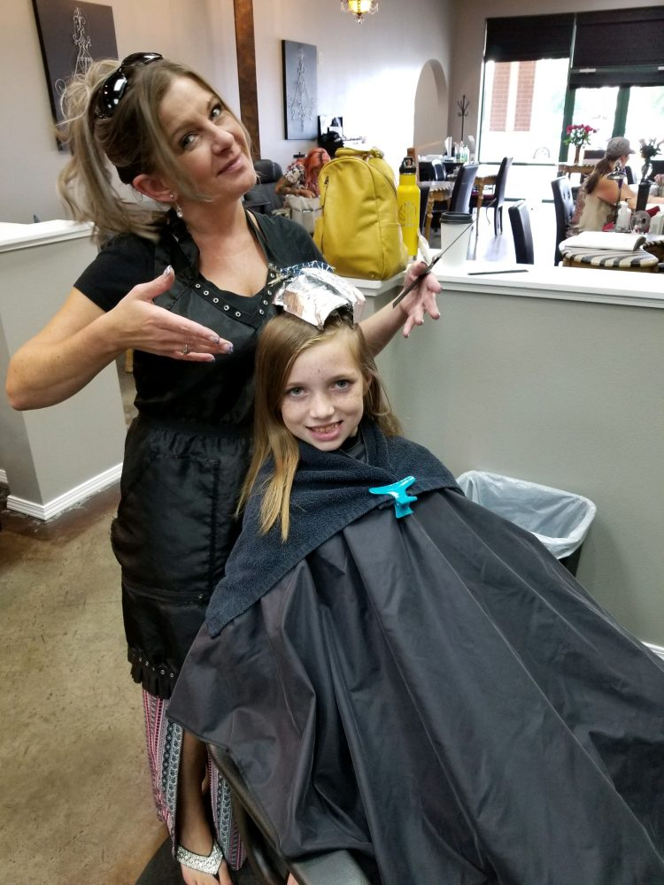 Girls Cut Color CDA During