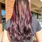 Long Hair Cut Color CDA