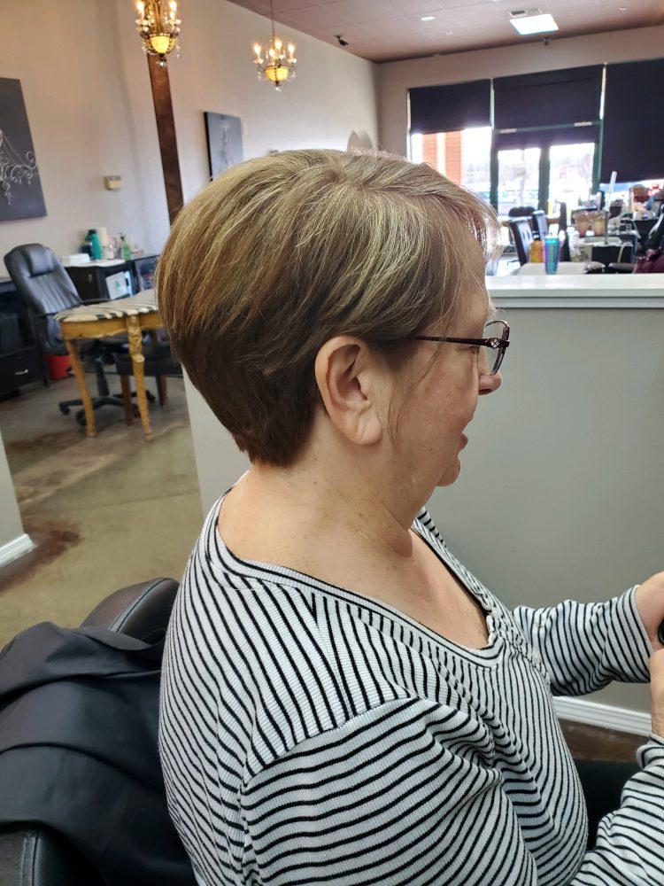 Short Hair Cut Highlights CDA