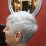 Short Hair Style Cut Grey Hair CDA
