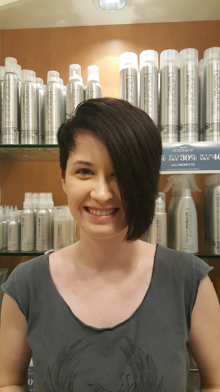 Short Hair Asymmetrical CDA
