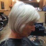 Grey Hair Style Cut CDA